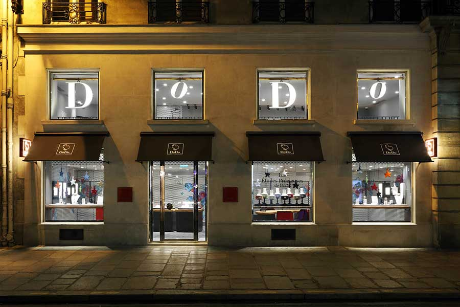 euphoria and eus by eumenes in Dodo by Pomellato botique in Paris